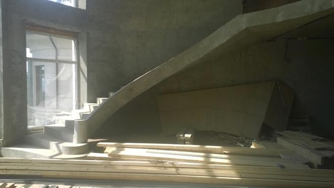 Монолитная лестница шаг за шагом