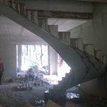 """Полувинтоая лестница (Коттеджный поселок """"Европейский"""")"""