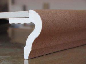 Стыковка рядовой плитки с капиносом