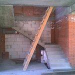 """3-х маршевая лестница с 2-мя площадками (Коттеджный поселок """"Светлый"""")"""
