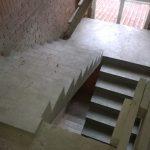 П- образная лестница с разворотной площадкой на 180 гр. Заельцовский район, Район санатория Колос