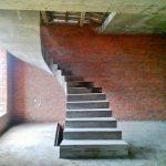 Монолитная лестница, п.Верх-Тула ул.Заводская