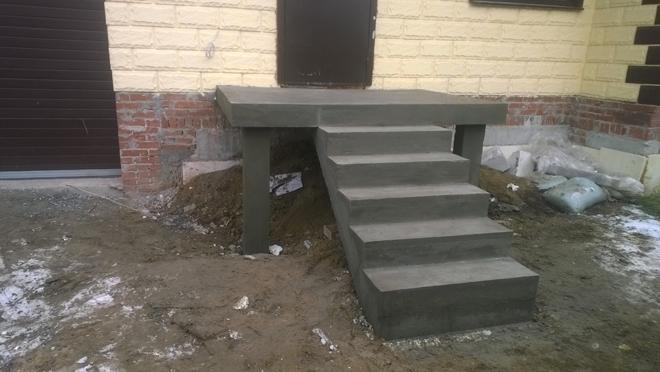 бетонирование входной группы