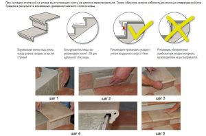 Инструкция по укладке плитки на ступени